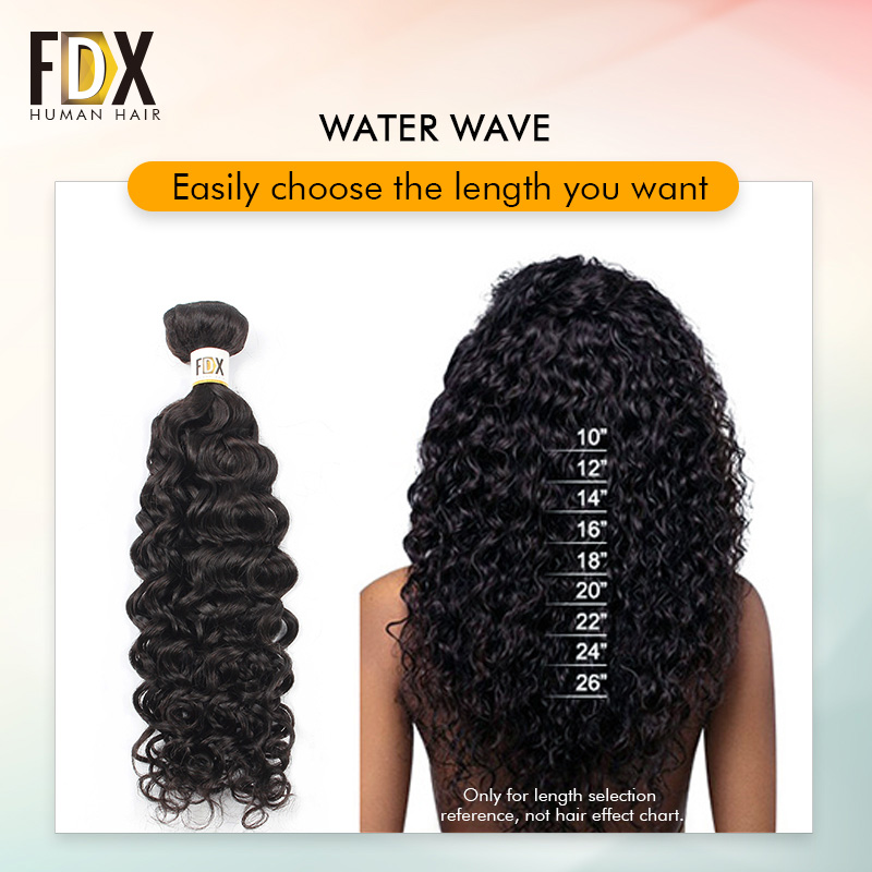 Natural color also dropwow fdx indian water wave bundles with closure inch free part rh
