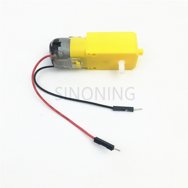 2pcs Intelligent Car Gear Dc Motor Robot Gear Motor Tt With Dupont