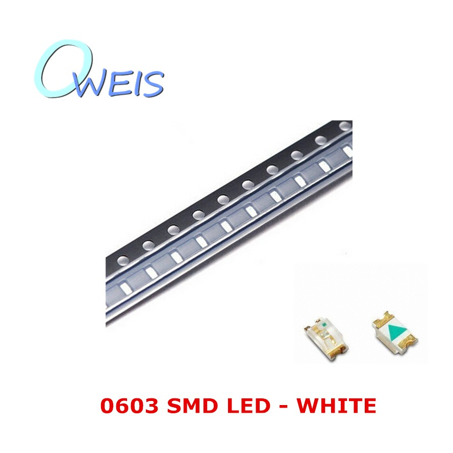Lighting Accessories Light Beads Amicable 200pcs 0603 Super Bright White Smd Led 1608 Indicator Sign Light Emitting Diode Light Beads Lamp Free Shipping