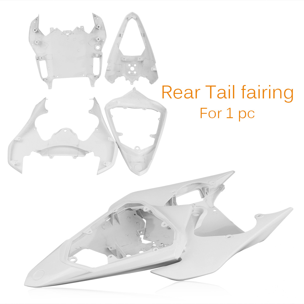 For Yamaha YZF R6 Tail Rear Fairing Cover Bodykits Bodywork 2008 2009 Injection Mold ABS Plastic