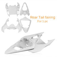 For Yamaha YZF R6 Tail Rear Fairing Cover Bodykits Bodywork 2008 2009 Injection Mold ABS Plastic Unpainted White Motorbike Part