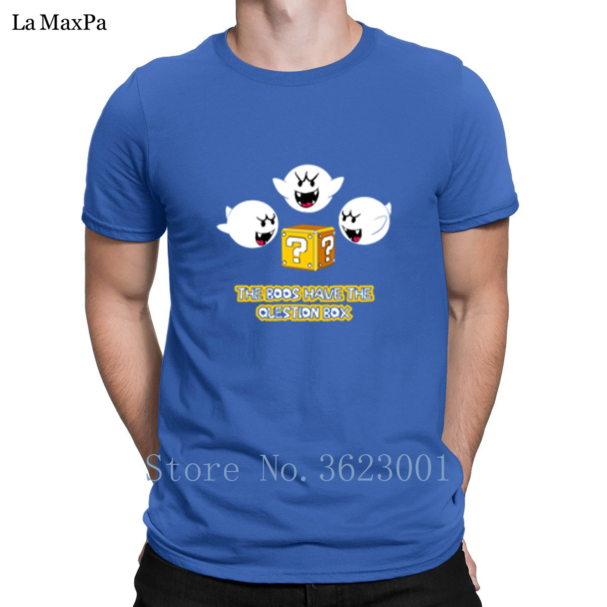 Customize Original Tshirt The Boos Have The Question Box T-Shirt Man Size S-3xl Hiphop T Shirt Humor Mens Tee Shirt Gents Fitted