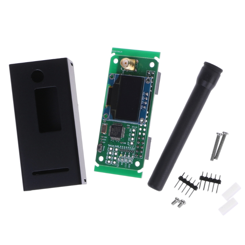 1 Set UHF/VHF MMDVM Hotspot OLED Antenna Shell Case Kit P25 DMR YSF For Raspberry Pi New аквабокс aquapac small vhf classic case 228