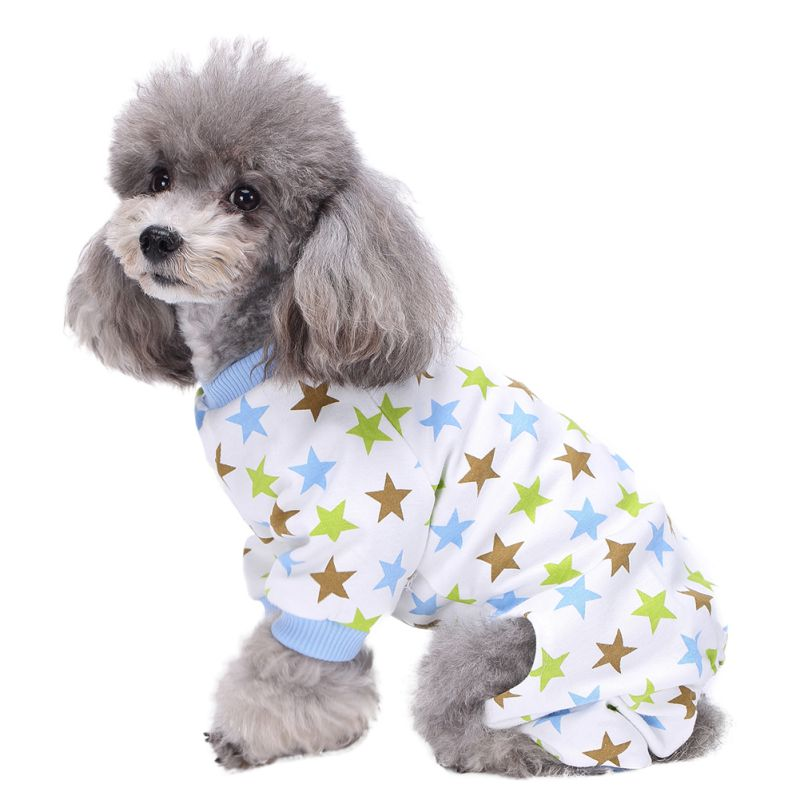A23 Cheap Pet Dog Clothes Stripes Dog Jumpsuit Pajamas Dog Coats Dog Clothing Yorkie Puppy Knitted Coat Pet Apparel Gray Pink Dog Clothing & Shoes Pet Products