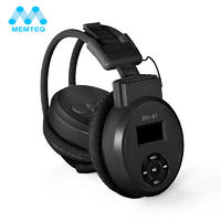 Cool Headphone With MP3 Player Sport Foldable Sport Earphone Headphone Headset MP3 Player Support Micro SD