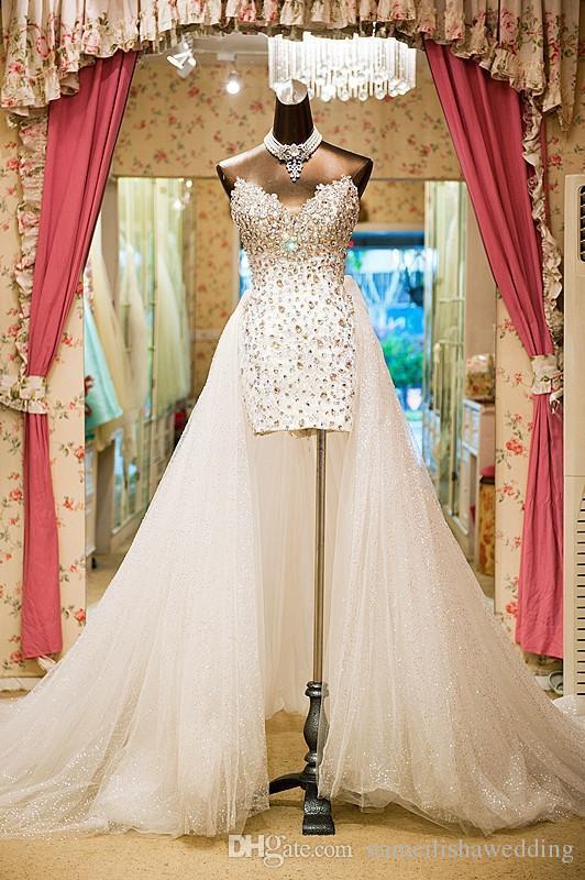 Vestidos de novia con piedras swarovski