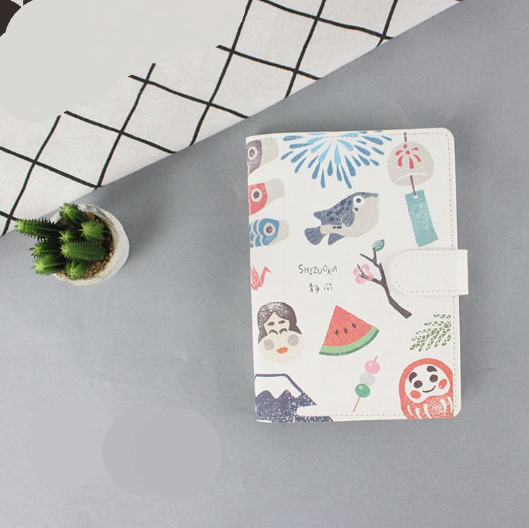 Cute Animal Cartoon Journal Gift 16*12.1cm DIY Daily Scheduler Agenda 100 Sheets School Office Supplies 2018 New cute colorful floral design portable daily 2018 planner lovely doll girl scheduler 256p 11 8 15 4 2 3cm agenda gift