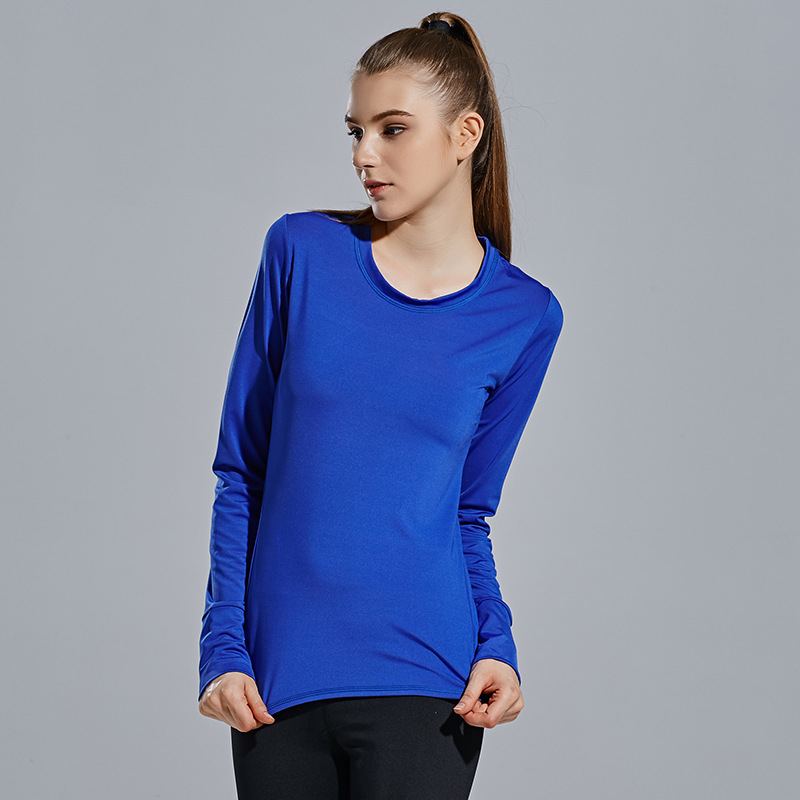 DANENJOY Autumn Women Black Long Sleeve Sports T Shirt Fitness Gym Running Shirt Quick Dry Yoga Shirt Running Fitness Tank Tops