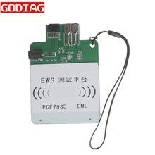 Plataforma de teste ews3 ews4 recarregável para bmw/land rover ews programador