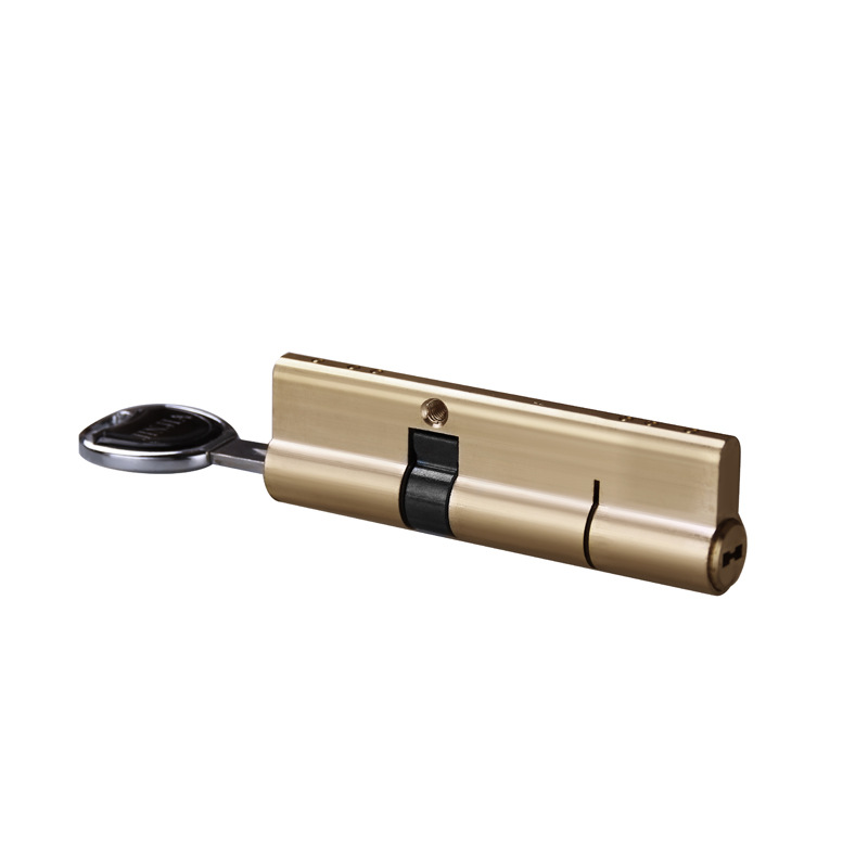 2018 Hot Sale New Arrival All Brass Lock Core Fingerprint Automatic Semi-automatic Preventing Violence Super Grade C Anti-theft hot 65mm super c type eight orbit lock cylinder prevent torsion violence tinfoil steel shell anti theft lock for home use
