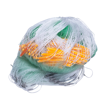 strong nylon net 3layer fishing net depth 1.5m-3.0m gill net length 80m mesh 20mm-75mm fishing network rede de pesca outdoor
