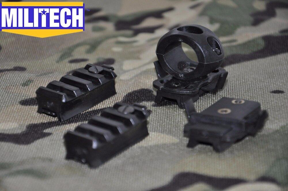 Militech Picatinny Adapter Flügel-loc Adapter X300 Adapter Lot Für Schnelle Ach Mich Ops Gentex Pasgt Helme Neueste Mode Einzel Clamp