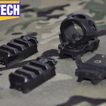 Adapters Helmets Fast-Ach MILITECH for MICH OPS Gentex PASGT Single-Clamp Picatinny