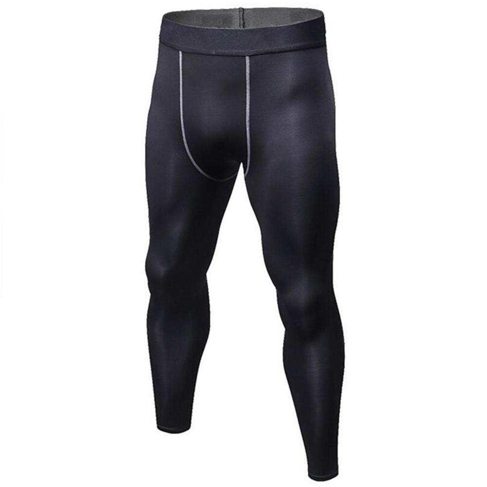 2018 Men Tight Fitting Trousers Movement Sport Exercise Pants Quickly Dry Gym Sportswear Trainning Breathable Perspiration Suits
