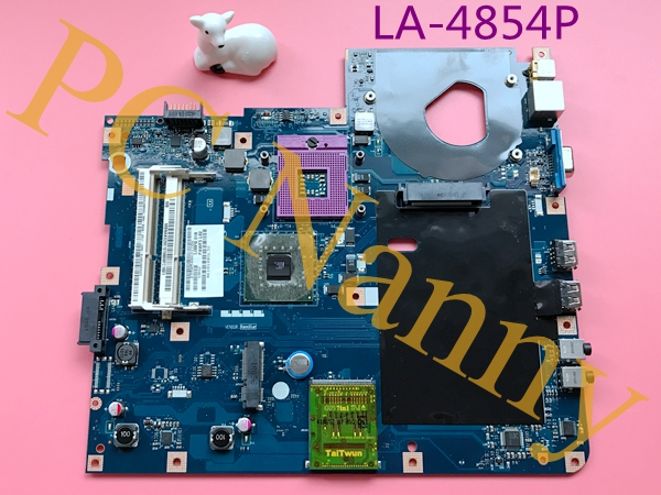 MBNAK02001 LA-4854P For Acer Emachines E527 Main Board Motherboard DDR3 S478 GL40 HD Graphics