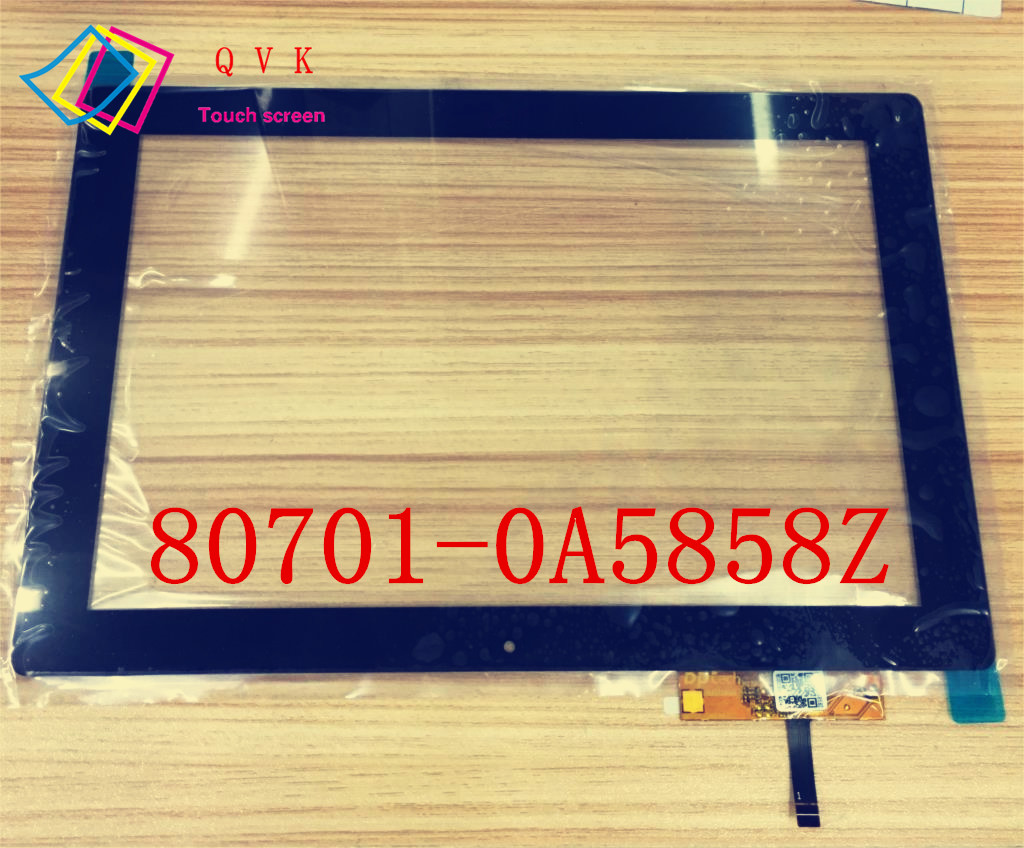 Original new 10.1inch 80701-0A5858Z for tablet pc touch screen digitizer glass touch panel sensor replacement original new 10 1 capacitve touch screen panel 80701 0a5858z windows 8 tablet pc android touch digitizer pad mid glass