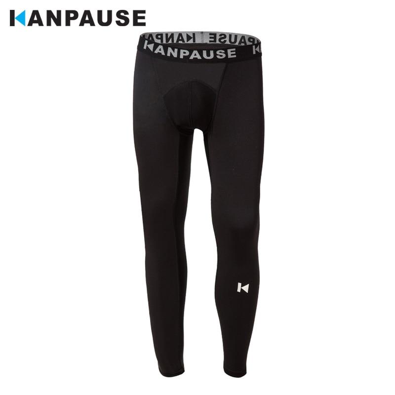 New Arrival KANPAUSE Męskie rajstopy Spodnie do biegania Spodnie treningowe do biegania Sportowa