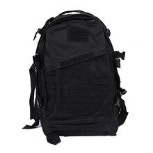 Nueva Venta Militar Mochila Táctica mochila bolsa de viaje de camping Senderismo 40L Negro