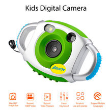 "Amkov АМК-fp Mini 1.44 ""Дети Цифровой Камера 1080 P 5mp TFT Экран анти капля несколько USB автоматический микрофон видеокамера"