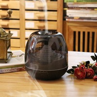 300ml Aroma Essential Oil Diffuser Silent Ultrasonic Air Humidifier With LED Night Light Support Auto Off
