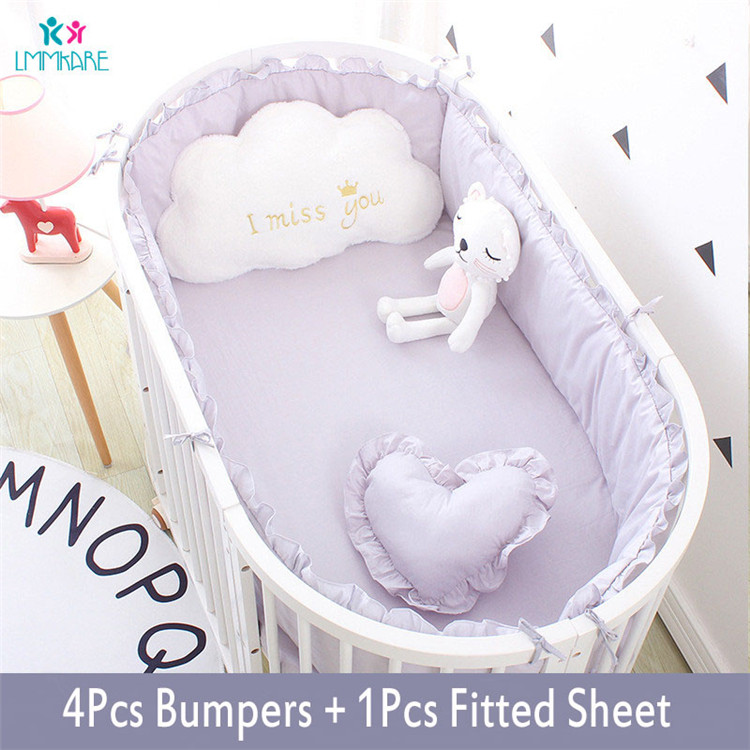 5Pcs-Baby-Breathable-Crib-Bumper-Pad-Oval-Bed-Crib-Liner-Set-for-Baby-Boys-Girls-Safe(1)