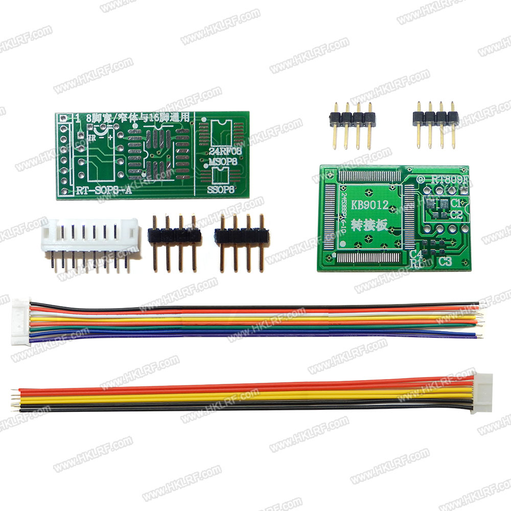 Image 5 - 100% Original  Newest RT809F LCD ISP programmer+ 11 Items +SOP8 Test Clip+1.8V Adapter+TSSOP8/SSOP8 Adapter Free shipping-in Integrated Circuits from Electronic Components & Supplies