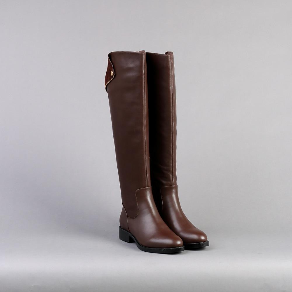 Online Get Cheap Womens Brown Leather Boots -Aliexpress.com ...