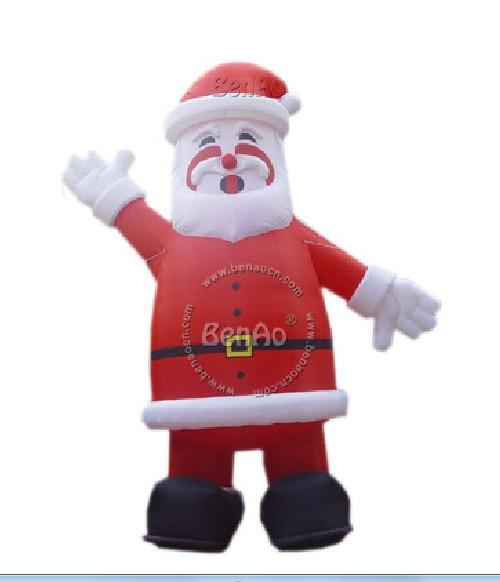X084 5m Hight  Inflatable santa claus Blow Up Christmas Yard Lawn Santa Decoration