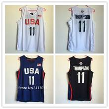 check out aa8ea 0d110 New Rare #11 Klay Thompson 2016 Dream Team USA Throwback ...