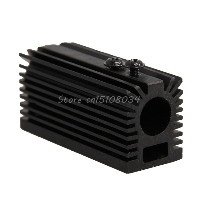 Aluminum Heating Dissipation Sink Holder Cooling CNC for 12mm Laser Module S08 Drop ship