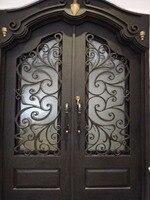 wrought iron door design ideas lion iron doors