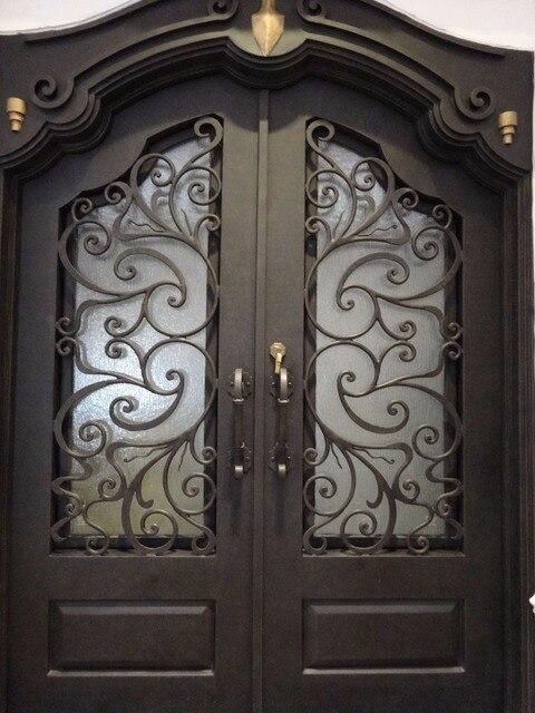 Wrought Iron Door Design Ideas Lion Iron Doors In Doors From Home