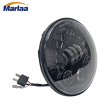 For Harley Davison 7inch LED Harley Motorcycle Headlight Daymaker Projector Turn Signal DRL