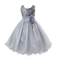 12 צבעים שמלת ילדה עבור שמלות טול מסיבת חתונה pinrcess נערות בגדי קיץ חג מולד תלבושות