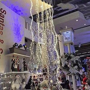 Image 5 - 1 セット/ロットクリスマスツリートッパー飾る Babysbreath ランプストリング木籐ライト銅線ランプ用パーティー結婚式 Dec