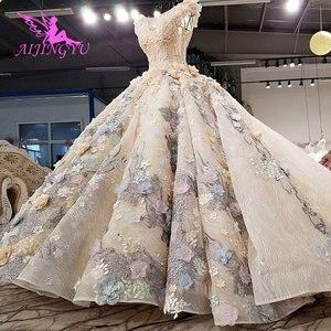 Image 4 - AIJINGYU スリムウェディングドレスアンティークガウン脂肪ホットオランダリアル価格ドレスパーティーヴィンテージ InspiNew のウェディングドレス