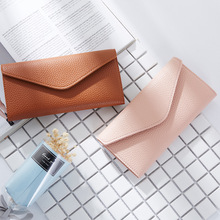 Long Wallet Women Purses Litchi pattern Coin Purse Card Holder Wallets Female High Quality Clutch Money Bag PU Leather Wallet new fashion women wallet crocodile pattern high quality purse for female coin purses money card holders ladies buckle purses y3