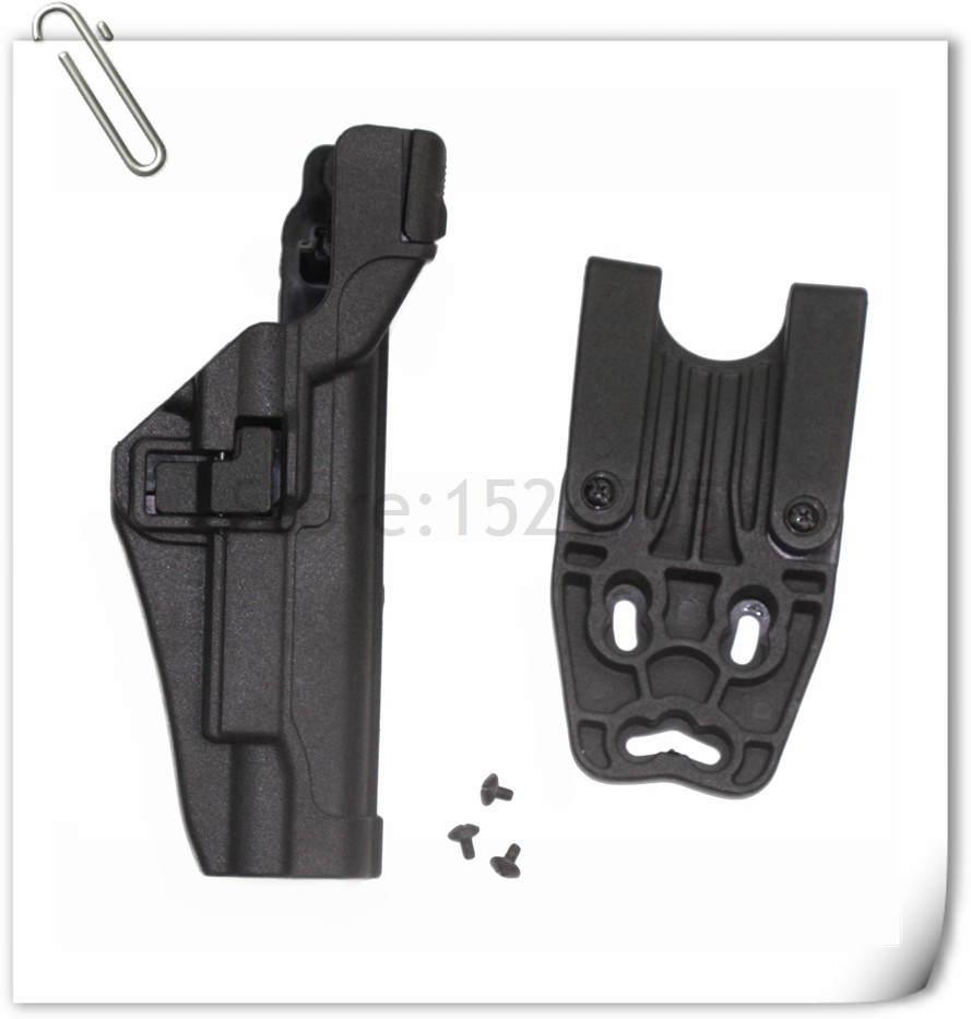 Tactical Holster Duty Belt Gun Holster Level 3 Serpa Auto Lock Colt 1911