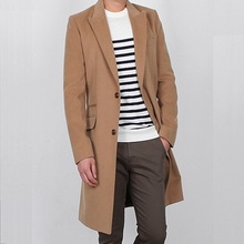 Zogaa 2019 Mens Spring and Autumn Coat Turn Down Collar Cotton Slim Fit Long Sleeve Jackets Casual Cardigan Wool Hot Sale
