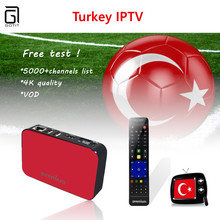 Best AVOV TVonline IPTV Box With ProTV 1000+ Arabic Turkey Portugal Benelux IPTV Mickyhop System Set-Top Box better than MAG254(China)