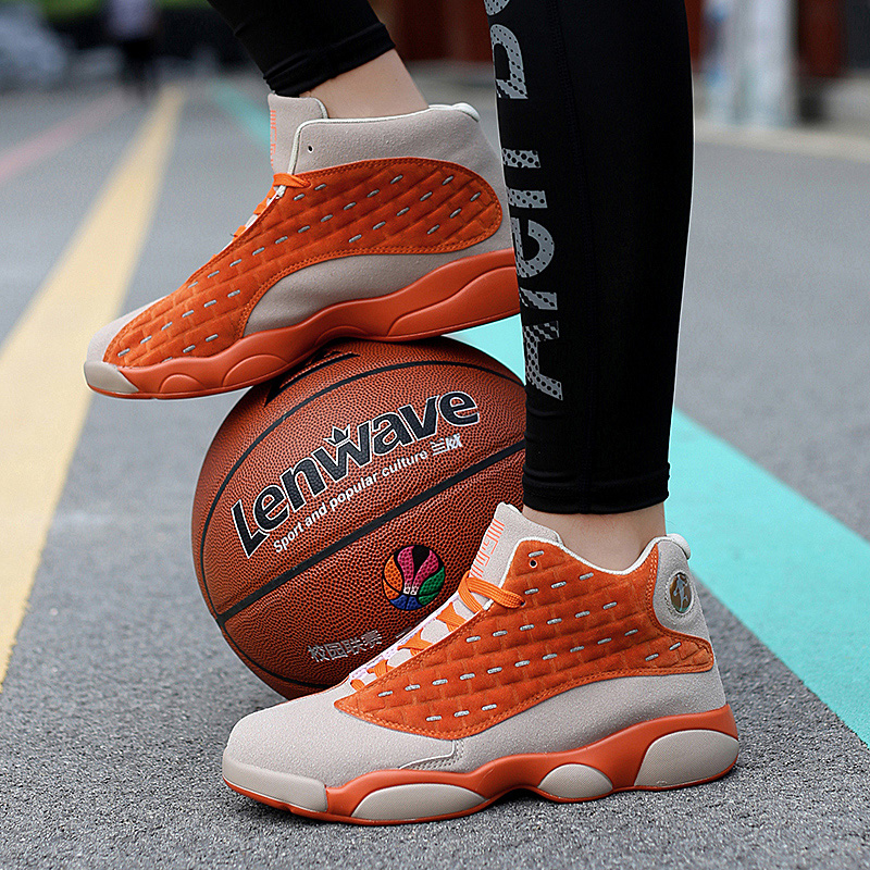 New Brand Kids Basketball Shoes Men Women High-top Sports Jordan Hombre Athletic Mens Shoes Comfortable Sneakers Big Size 35-46