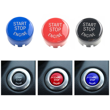Accessories Key Car Engine START Stop Button Replace Cover Switch Decor for BMW F20 F10 F01 F26 F15 F16 Car Engine Button Cover