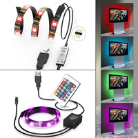 USB RGB 5050 SMD WATERPROOF LED STRIP LIGHTS 5V FOR LCD DISPLAY TV CAR DECOR Light