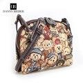 Danny Biebei Women Bag Fashion Women Messenger Bags Ms leisure canvas aslant single shoulder bag Danny Bieber No:3002