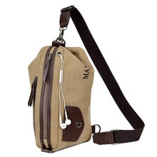 Manjianghong Functional Field  Chest Sling Bag  One Single Shoulder Bag Man Ride Travel Bag 1301