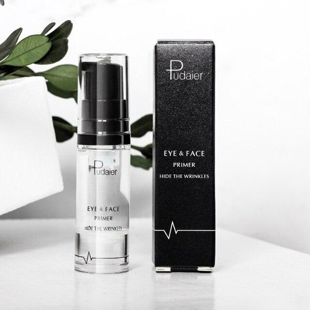 Pudaier 1PC 8ml Primer Makeup Maquillaje Eyes Gel Cream Liquid Smooth Lines Eyeshadow Facial Base Eye Shadow Foundation 4