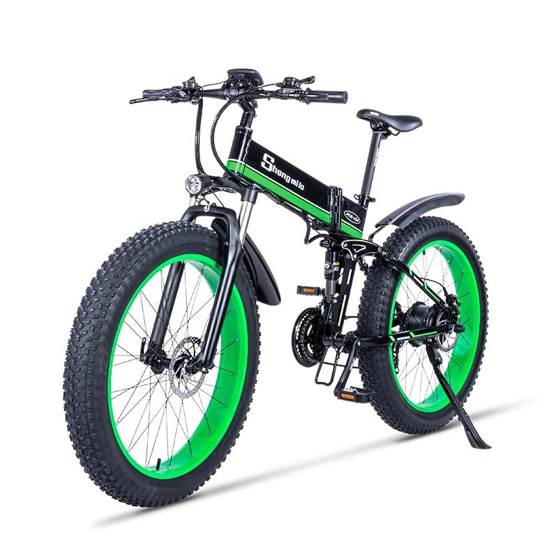 1000W Ebike 2019 nouveau vélo de plage électrique motoneige aider VTT vélo tout-terrain rouleau vélo Fury Lithiu puissance