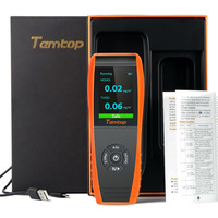Качество воздуха детектор профессиональное монитор формальдегида Температура и датчик влажности с PM2.5/PM10/HCHO/AQI/TVOC тестирование