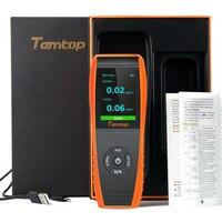 Качество воздуха детектор профессиональное монитор формальдегида Температура и датчик влажности с PM2.5/PM10/HCHO/AQI/частиц выздоровеет
