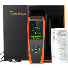 Temtop LKC-1000S+ Professional Formaldehyde Monitor Detector with HCHO/PM2.5/PM10/TVOC Accurate Testing Air Quality